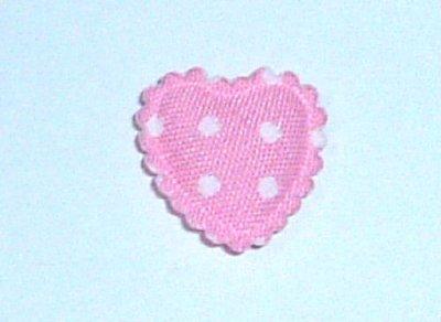 画像1: コットンミニ苺の型抜きモチーフ 4枚